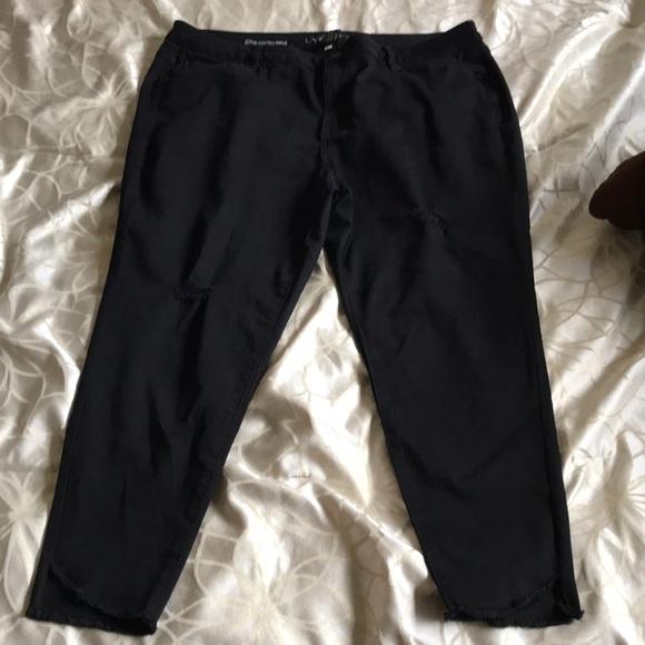 8c52489f68726 Lane Bryant Super Stretch Skinny Ankle Pants NWT